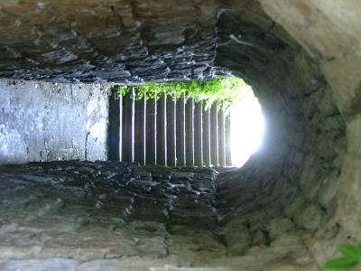 Historischer Druchgang