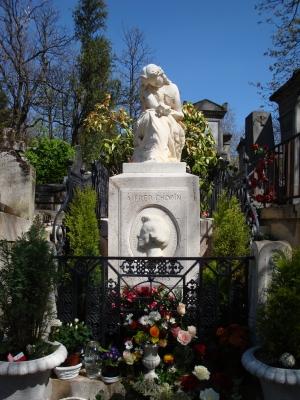 Grabstelle Alfred Chopin