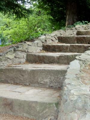 Wohin führen die Stufen...