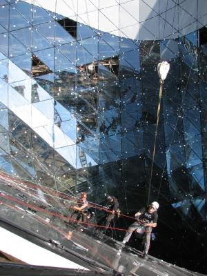 Palaisqurtier Frankfurt am Main, MyZeil, Fassadenbau