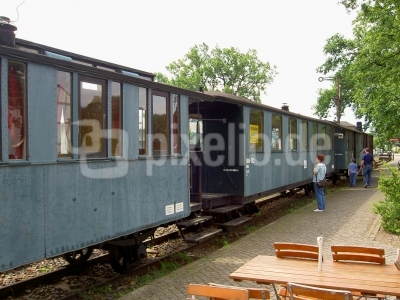 Spreewald - Museumszug in Burg
