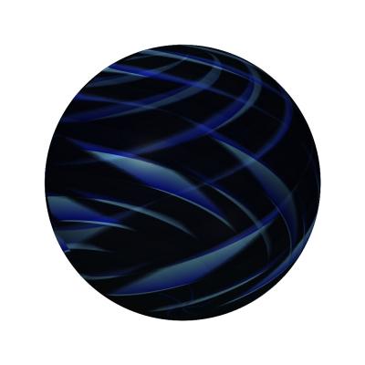Kugel schwarz blau - ball black blue