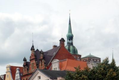 Dächer in Stralsund