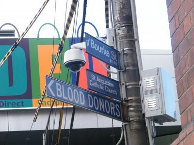 Street Corner Melbourne