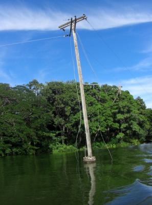Nicaraguasee - Kommt hier der Strom aus dem Wasser?