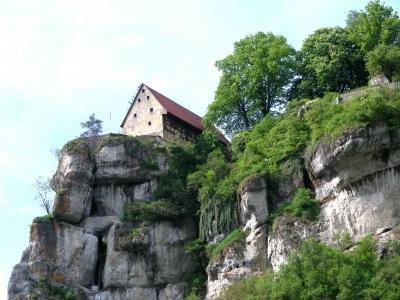 Hochhaus in Pottenstein