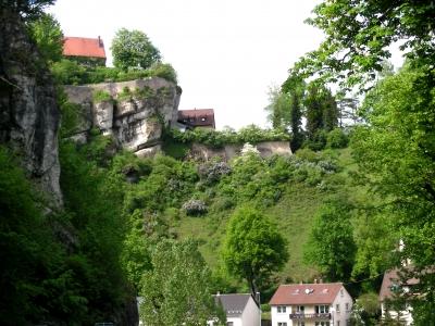 oben und unten in Pottenstein