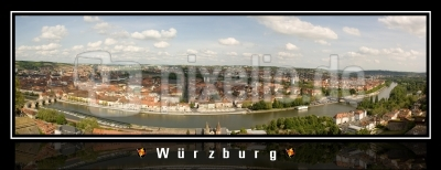 Würzburg Panorama Poster