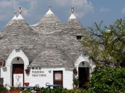 Trulli-Restaurant (Alberobello, Italien)