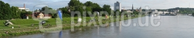 AirWorksSkulpturen - Linz Donaupark (Panorama)
