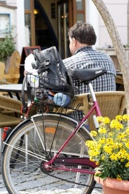 Radfahren macht müde..