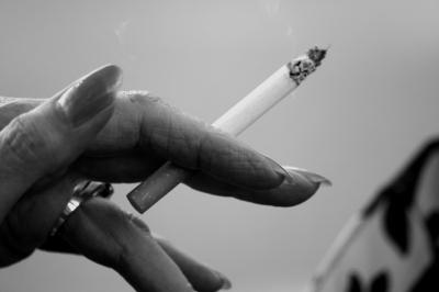 Eleganter Rauch
