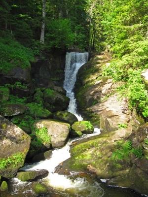 Triberger Wasserfall am Morgen
