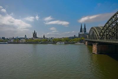 Kölner Uferpromenade