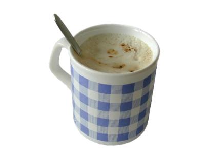 freigestellte Kaffeetasse