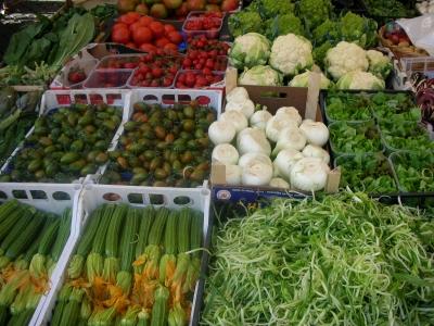 Gemüse am Campo di Fiori