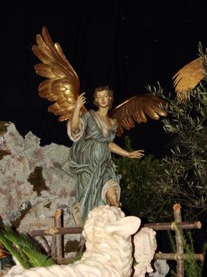 Ein Engel im Vatikan