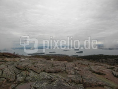 Landschaft Acadia Nationalpark