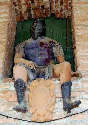 verwundeter Ritter
