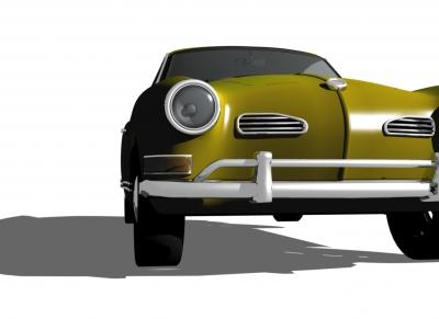 Karmann Ghia 3D
