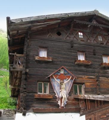 Südtirol - Hof in Schnalstal