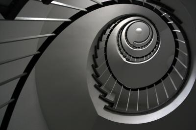 Treppenhausspirale