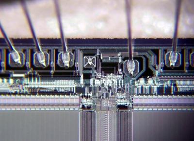 Speicherchip EPROM Detail 3