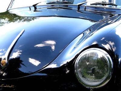 Glanzvoller Oldie Porsche 1600_2