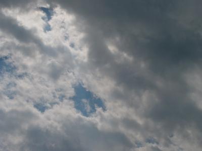 immer nur Wolken