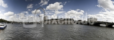 Panorma London Eye