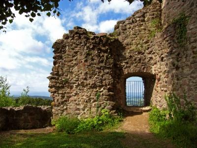 Ruine Sausenburg im Markgräfler Land