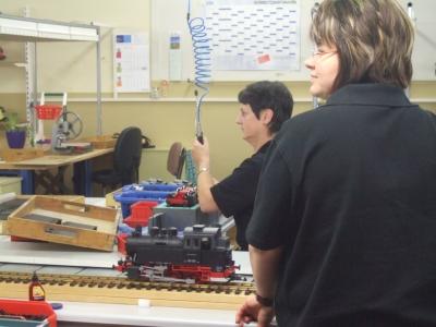 Die Lokomotivbauerinnen