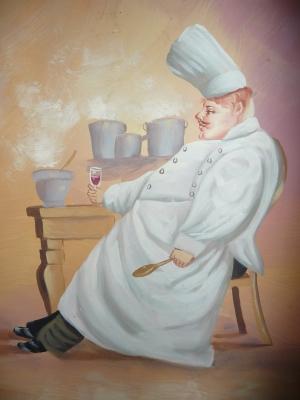 Der muede Koch