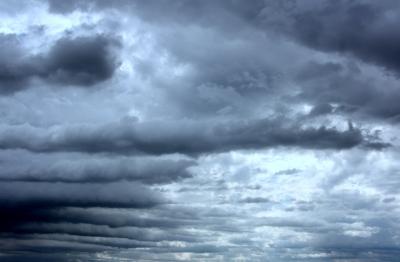 Himmel Arsch und Wolkenbruch