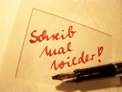 Schreib mal wieder! 2
