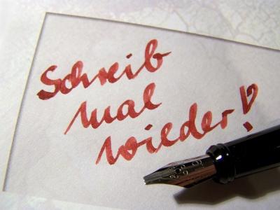 Schreib mal wieder! 4