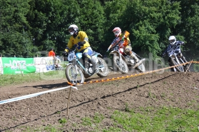 Motocross-Oldtimer-Trio