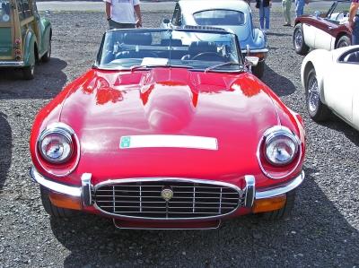 Jaguar E-Type Cabrio_Front