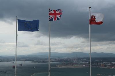 Flaggen Gibraltar
