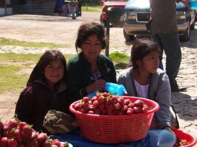 3 Mädchen in Guatemala
