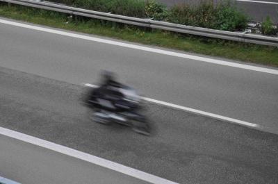Motorradfahrer