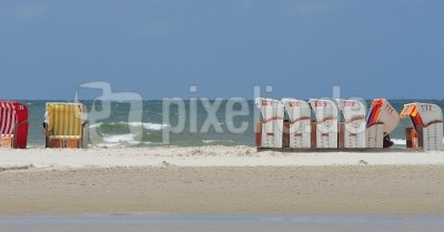 Strandkorbreihe
