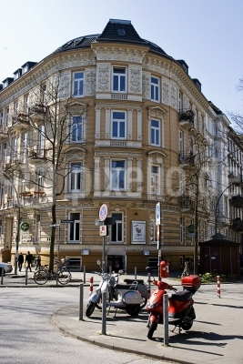 Eckhaus  Heinrich-Barth-Strasse