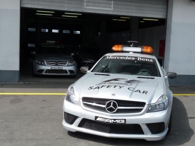 Safety Car - Nürburgring 2009 - Boxengasse