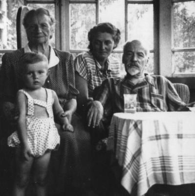 Ich  und meine Familie Starosielce bei Bialystok