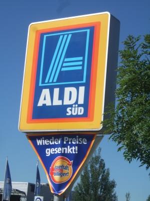 Am Aldi-Parkplatz