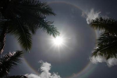 Kreisförmiger Regenbogen