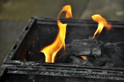 Flammenskulptur 2