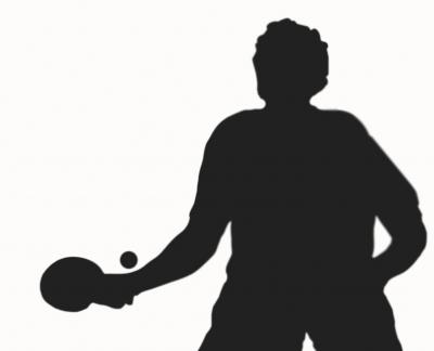 Tischtennis Schatten
