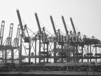 Hafenkräne - Logistik